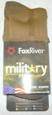 Fox River Wick Dry Retardant Mid Calf Boot Sock Large Foliage Green