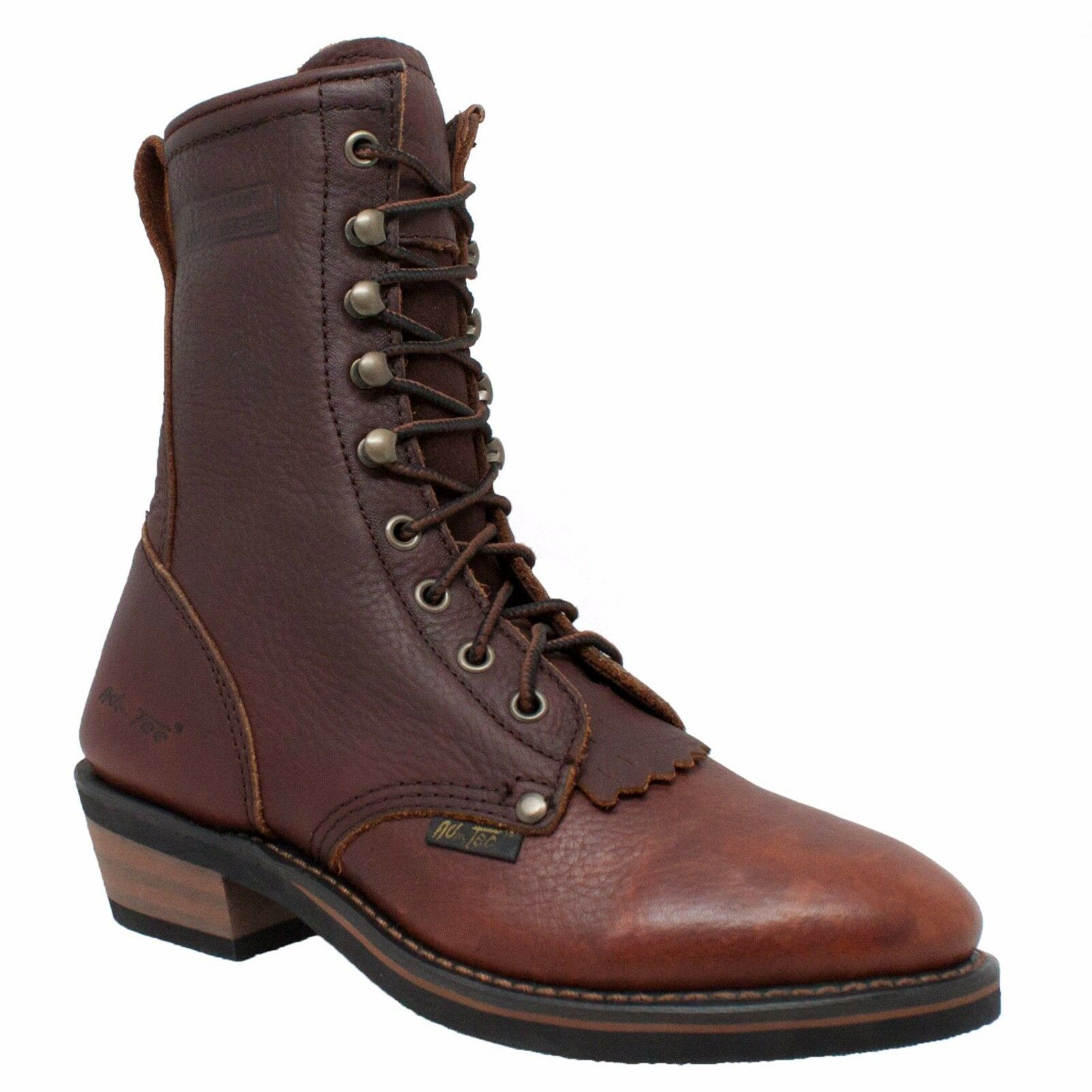 2173 AdTec Chestnut, Women's 8'' Packer Chestnut, Western Boot