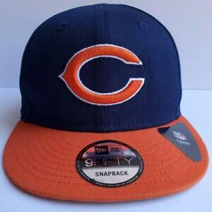Chicago-Bears-C-New-Era-9FIFTY-NFL-Adjustable-Snapback-Hat-Cap-2Tone-950