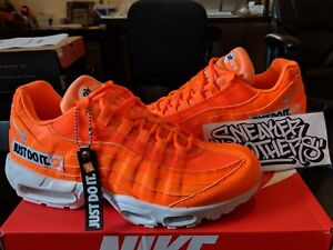huge selection of 80528 aa8f5 Image is loading Nike-Air-Max-95-JDI-Just-Do-It-