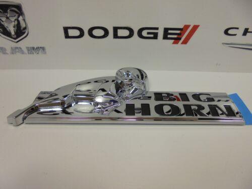 08-16 Dodge Ram 1500 2500 3500 New Chrome Big Horn Emblem Nameplate Mopar Oem