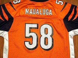 Details about Rey Maualuga #58 Cincinnati Bengals Jersey by Reebok, Youth XL, NICE!!!