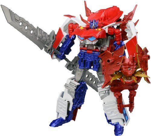 Takara Tomy Transformers Go G26 Optimus expriming Japan