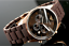 NEW-GENUINE-EMPORIO-ARMANI-AR5890-ROSE-GOLD-SILICONE-MENS-WATCH-UK thumbnail 1