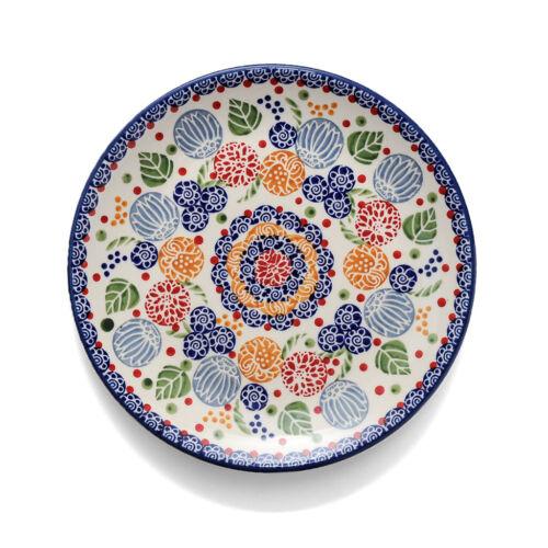 Bunzlauer Keramik Frühstücksteller 22cm Dekor KOKU Unikat Modern signiert