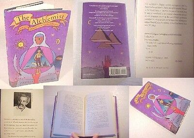The Alchemist, Paulo Coelho ENGLISH VERSION/edition HARDCOVER BOOK+DUST JACKET