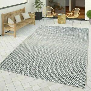 Détails sur Moderne Géométrique Tapis Cuisine Patio Terrasse Tapis de sol  Flatwave qualité tapis gris- afficher le titre d\'origine