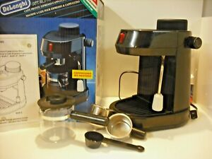 DeLonghi-Caffe-Pronto-Espresso-Cappuccino-Maker-2-4-Cups-Bar-2-With-Original-Box