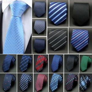 Classic-Men-039-s-Ties-Paisley-Floral-Neck-Tie-Jacquard-Woven-Wedding-Necktie-Lot