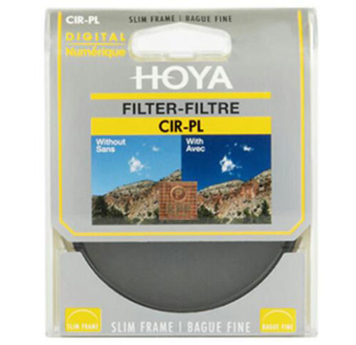 Hoya 58 Mm 58mm Slim Polarizador Circular polarizante polariser CPL C-PL filtro