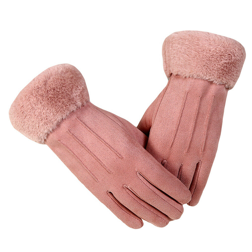 1 Pair of Warm Stylish Fashion Exquisite Suede for Ladies