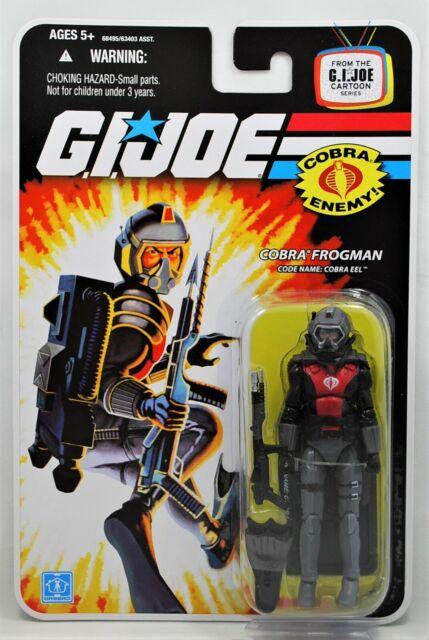 2008 Gi Joe MOC Cobra Frogman Eel Cartoon Series 25th 100 Hasbro for sale online