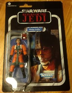Star Wars Vintage Collection Return of the Jedi Wedge Antilles Figure Punched