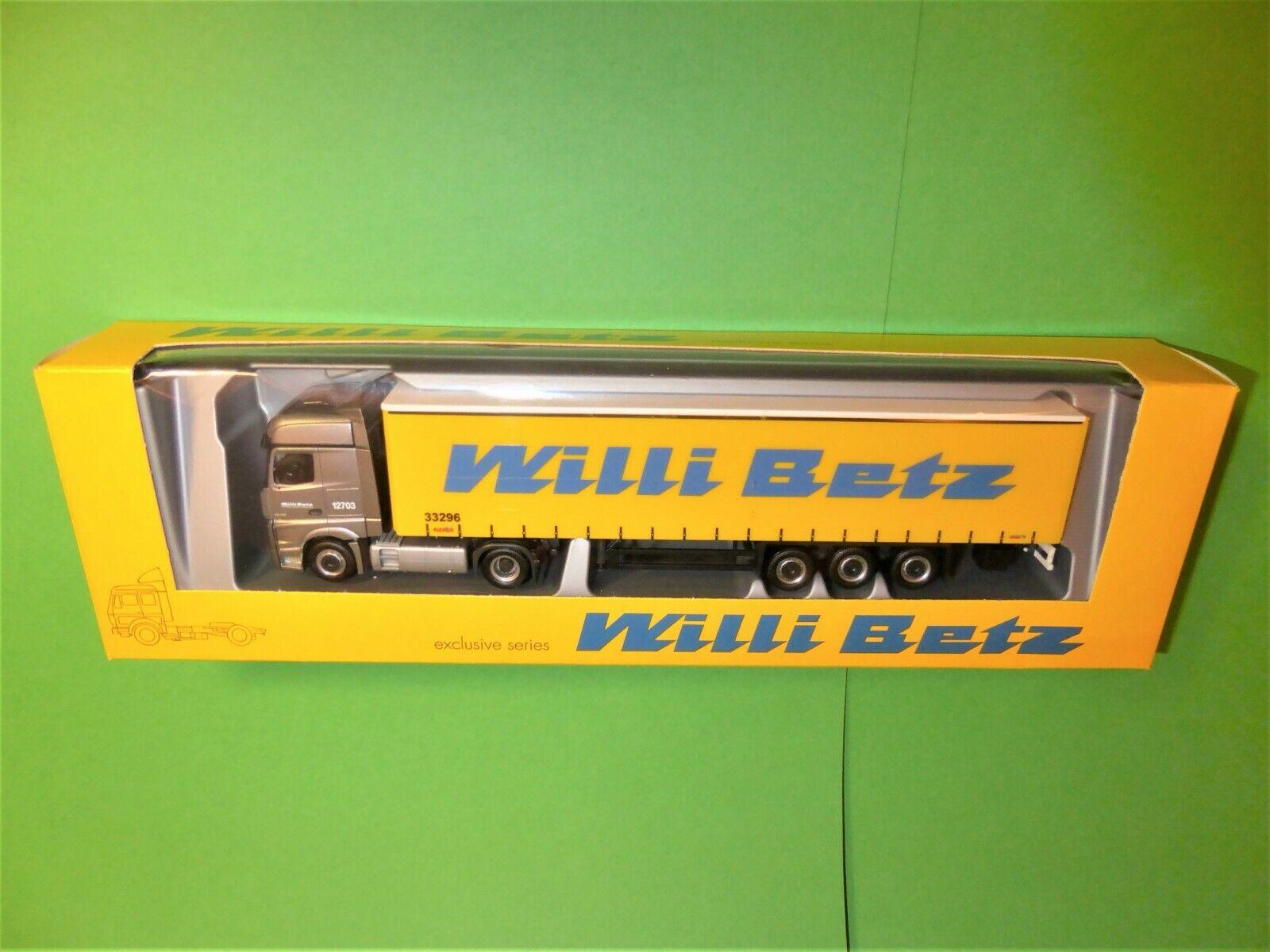 directo de fábrica Herpa  Willi betz 12703 33296    MB actros SZ 1 87 top&ovp  disfrutando de sus compras