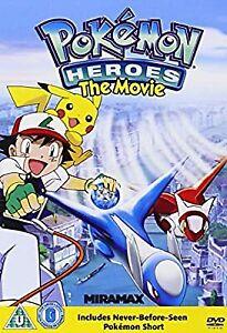 Pokemon-Heroes-DVD-Used-Good-DVD