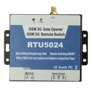 Details about New Version RTU5024 3G GSM Gate Opener Relay Remote Wireless  Door Control