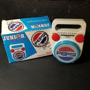 Pepsi Junior Radio AM/FM Portable PC-110 New Old Stock