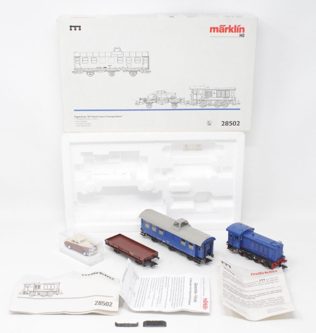 Marklin h0 48792 set of 2 freight wagons transport Beer Lederer of DRG [ms3-006]