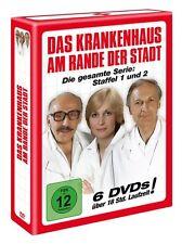 6 DVDs *  DAS KRANKENHAUS AM RANDE DER STADT  # NEU OVP &