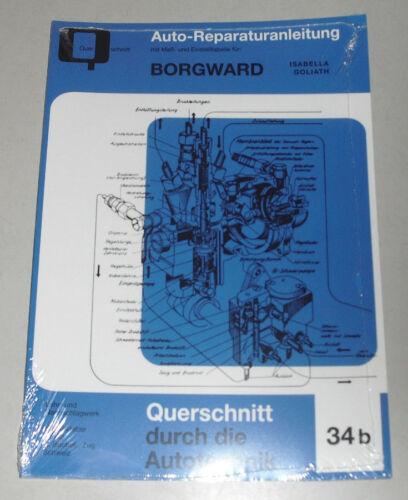 DG 750 Goliath GP 700//700 e Istruzioni di riparazione Borgward Isabella