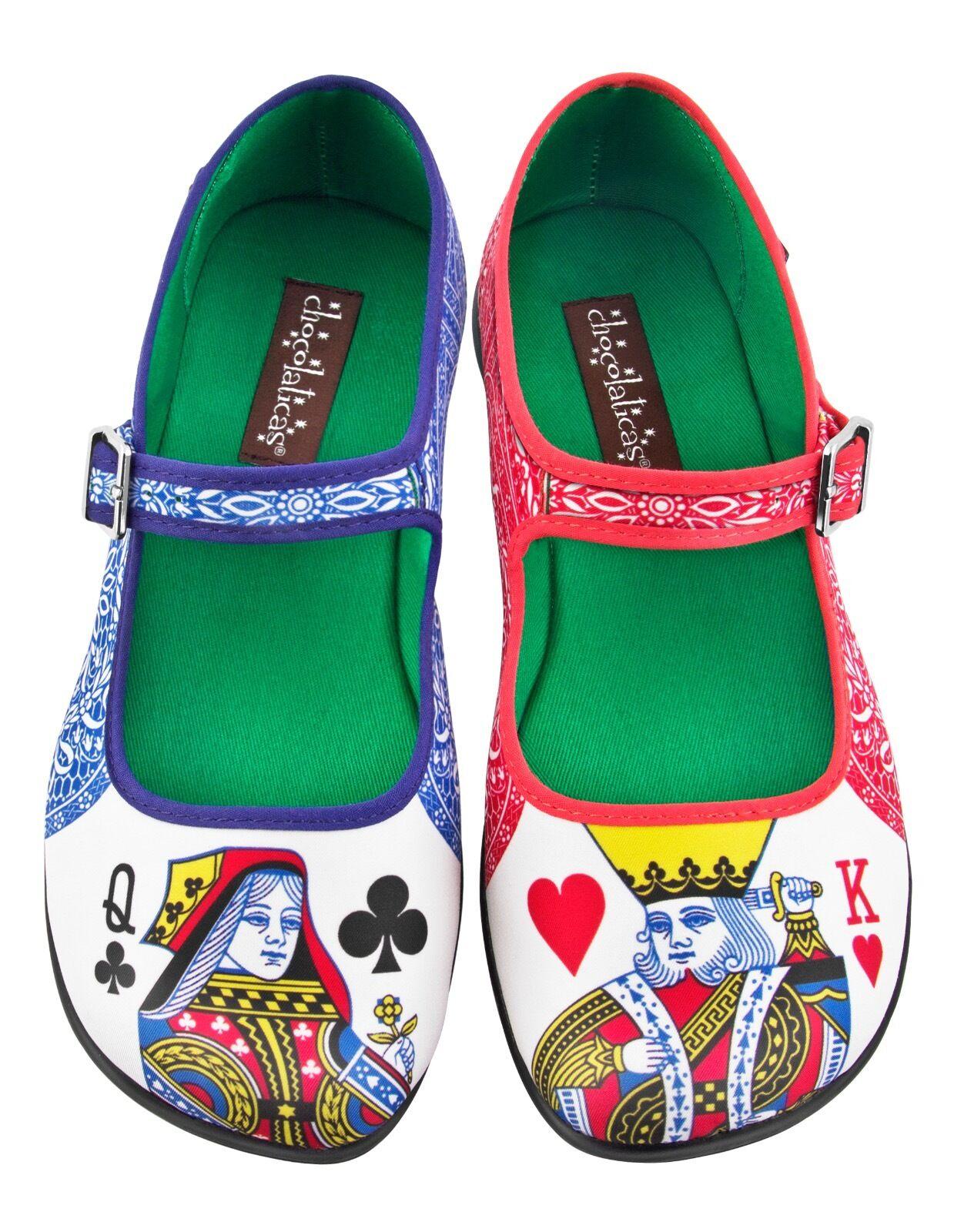 Hot Chocolate Design. Chocolaticas Lady Poker. US 5. Women shoes. Mary Janes