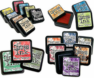 Tim-Holz-Distress-Ink-Pads-Ranger-Water-Based-Dye-Inks-Choice-Of-Colours