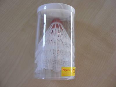4 Pack Badminton FederbÄlle FederbÄlle Bälle Neu Weitere Ballsportarten