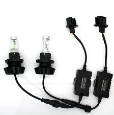 8000LM H13 9008 LED Headlights Bulb Kit H/L Beam 6500K Ford Dodge Jeep Offroad