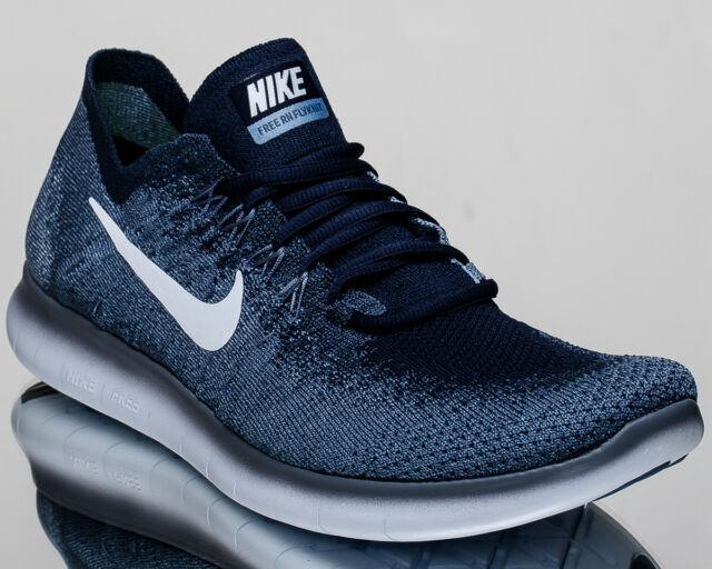 detailed look 0b5c2 b55b6 Nike Free RN Flyknit 2017 men running run shoes NEW ocean fog 880843-402