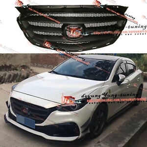 Mazda 3 2017 Custom >> Custom Unpainted Front Bumper Grille Sport Grill Type For Mazda 3