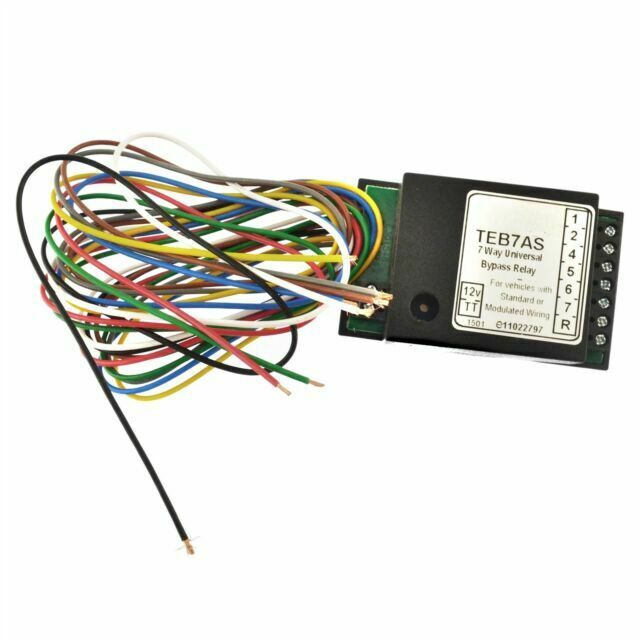 Opel Towbar Towing Smart 7 Way Bypass Relay For Canbus /& Multiplex Wiring