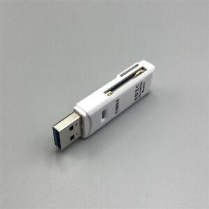 LETTORE ADATTATORE Scheda di memoria Micro SD card TF card 2in1 OTC a USB 3.0