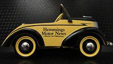 Pedal Car 1930s Ford Hot Rod Rare Vintage Classic A Sport T Midget Show Model