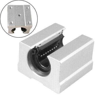 JN/_ 1pcs SBR12UU 12mm Ball Bearing Support Unit Linear Slide Pillow Blocks for