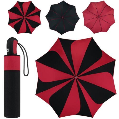 pierre cardin Damen-Regenschirm (Blütenform) Taschenschirm auf-zu-automatic neu