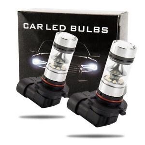 2x-9005-HB3-9145-H10-8000K-100W-LED-Projecteur-Brouillard-Ampoule-Voiture-G