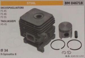 NEW OEM STIHL Trimmer 34mm Piston//Cylinder HL HS MM KM BT BG FS 38 45 46 55 READ