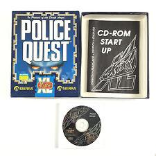 Jeu Police Quest In Pursuit of The Death Angel Sur PC Big Box / Boite Carton