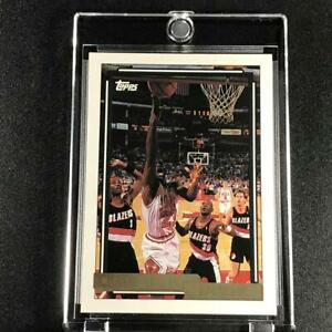 MICHAEL-JORDAN-1992-TOPPS-GOLD-141-PARALLEL-CARD-CHICAGO-BULLS-NBA-MJ