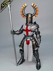 templar builder action figure machete helmet head accessory