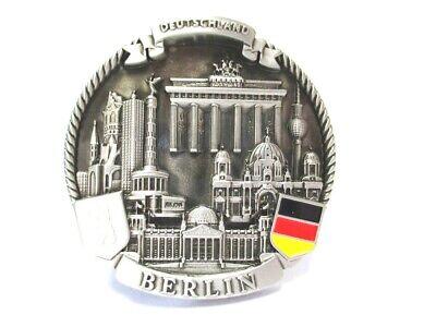 EntrüCkung Berlin Metall Magnet Souvenir Germany 6er Collage Mit Highlights !!