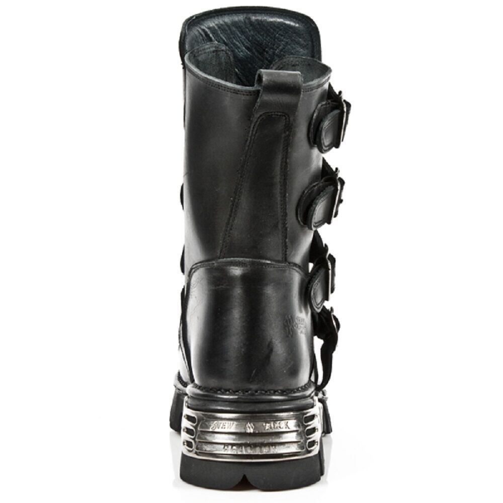 New Rock Unisex Gothic Leder Biker Stiefel  Metallic Stunning Gothic Unisex  -M.391-S1 16c56e