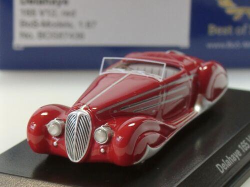 BOS Delahaye 165 V12 87436-1:87 rot 1938