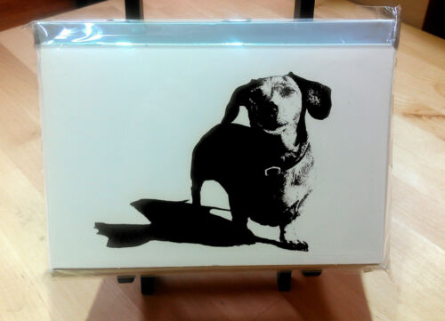 NEW 10 pack of dachshund note cards