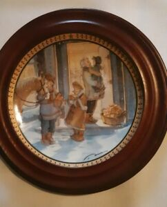 Trisha-Romance-034-A-Gift-to-Treasure-034-Collector-Plate-with-COA-Framed-2007