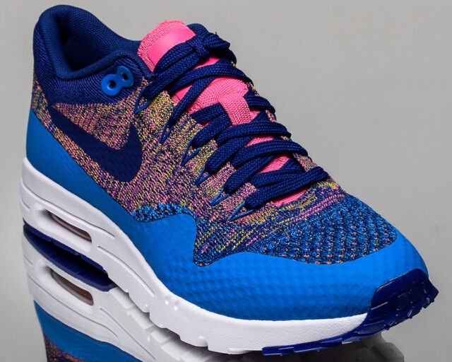 c7279535e12d Nike WMNS Air Max 1 Ultra Flyknit women lifestyle sneakers NEW photo blue