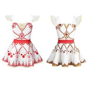 Kid-Girls-Leap-Dance-Dress-Ballet-Gymnastics-Leotard-Dress-Ballerina-Dancewear