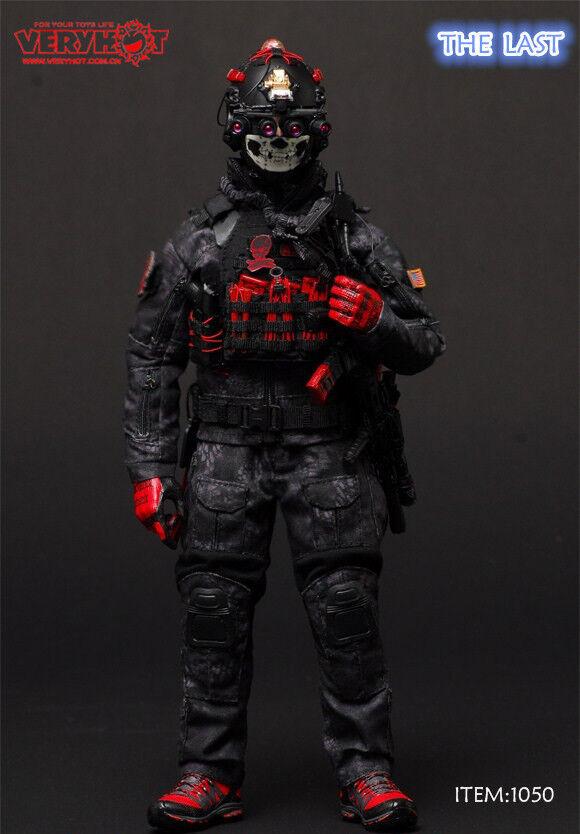 VeryHot VH 1050 les 1 6 derniers SEAL CQB uniforme costumes fit 12  mâle Action Figures