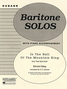 T.C In the Hall of the Mountain King Baritone B.C Solo with Piano 004477730