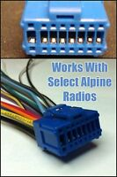 Pioneer Avhp5200bt Avhp7600dvd Avh-p7600dvd Blue Plug Power Wire Harness